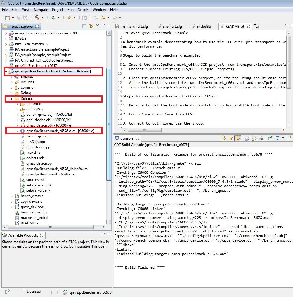 4 1  TI-RTOS Kernel — Processor SDK RTOS Documentation
